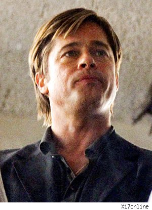 Brad Pitt Is a Clean-Shaven Stud Again