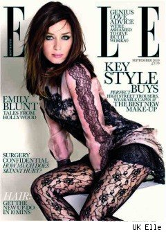 Emily Blunt on UK Elle