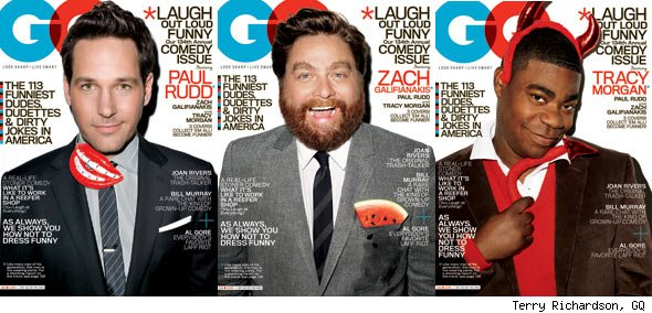 GQ's Comedy Issue: Photos and A Behind-the-Scenes Interview
