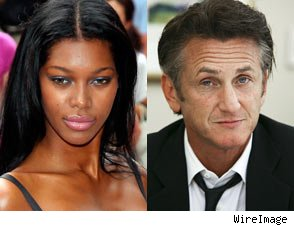 Sean Penn Spotted Smooching Model Jessica White