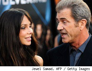 Oksana Grigorieva / Mel Gibson