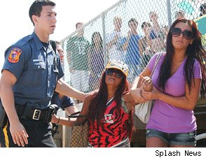 Snooki Arrested