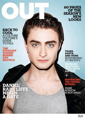 Daniel Radcliffe - OUT Magazine Cover