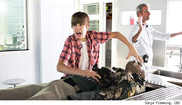 Justin Bieber 'CSI'