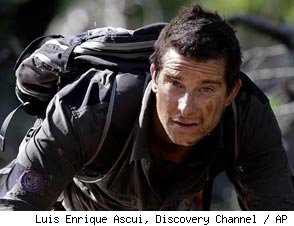Bear Grylls on 'Man Vs. Wild'