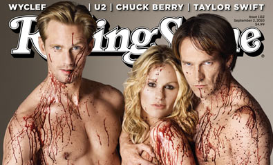 True Blood on the Cover of Rolling Stone
