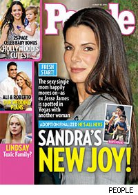 Sandra Bullock PEOPLE Magazine cover