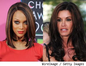 Tyra Banks &amp; Janice Dickinson 