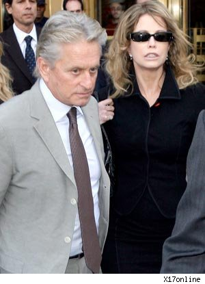 Michael Douglas and ex-wife Diandra Douglas