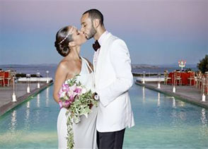 Alicia Keys Wedding to Swizz Beatz in Corsica