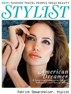 Angelina Jolie Stylist cover