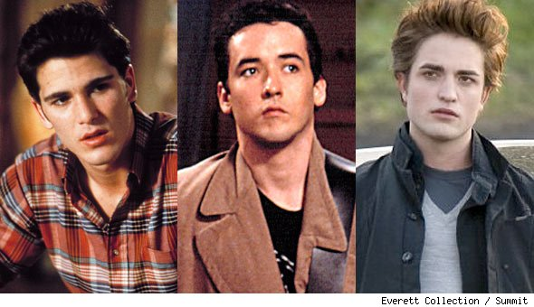 Jake Ryan, Lloyd Dobler and Robert Pattinson are best high school movie boyfriends ever.