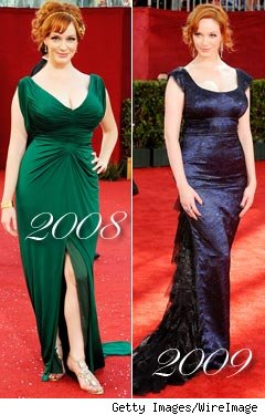 Christina Hendricks Emmy Dress