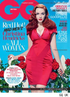 Christina Hendricks of Mad Men on British GQ