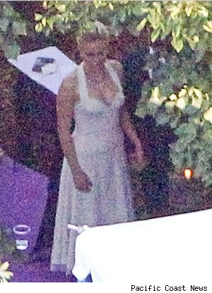 Anna Paquin Wedding Photos