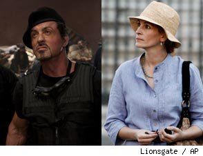 'The Expendables' and 'Eat Pray Love' Have 15 Things in Common -- Seriously