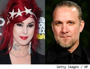 Jesse James Spotted With Kat Von D