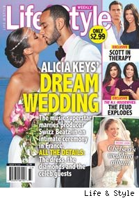 Alicia Keys and Swizz Beats Wedding