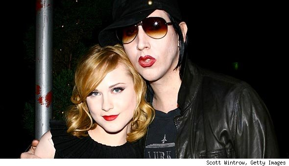 Marilyn Manson and Evan Rachel Wood Split