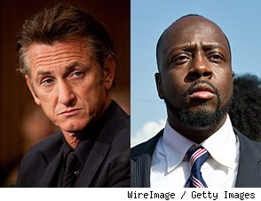 Sean Penn on Wyclef Jean's Presidential Bid: 'I'm Very Suspicious'