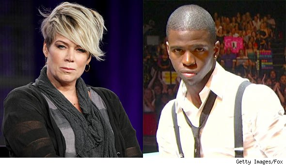 Mia Michaels and AdéChiké Torbert from So You Think You Can Dance