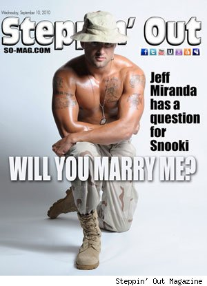 Jeff Miranda on Steppin' Out Magazine