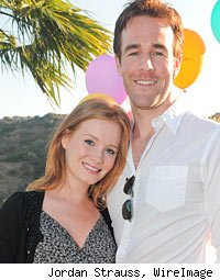 James Van Der Beek and Kimberly Brock