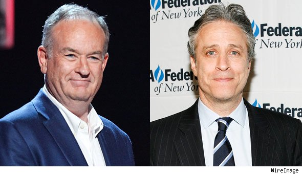 Bill O'Reilly and Jon Stewart