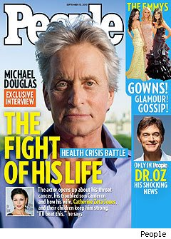 Michael Douglas PEOPLE Magazine
