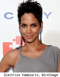 Halle Berry Seen Smooching Costar in Paris