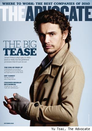 James Franco / Advocate Magazine Cover