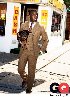 Boardwalk Empire Star Michael Kenneth Williams Gets Dapper in GQ