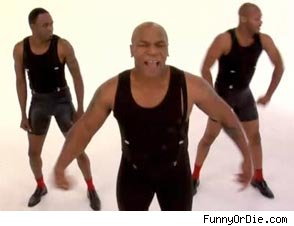 Mike Tyson and Wayne Brady Get Funky Reenacting Bobby Brown Video