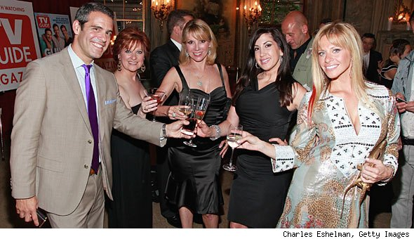 Andy Cohen and his wives