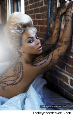 Beyonce Knowles Tattoos