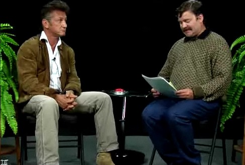 Sean Penn on Between Two Ferns
