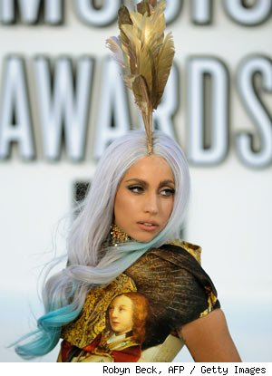 Lady Gaga 2010 VMAs Fashion