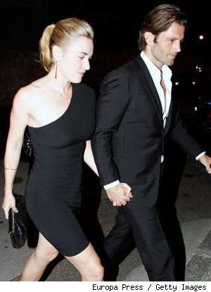 Kate Winslet and Louis Dowler