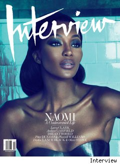 Naomi Campbell on Interview Magazine