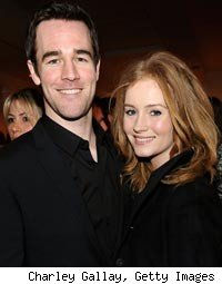 James Van Der Beek and Heather Brook