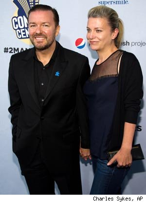 No More Fat Jokes for Slimmed-Down Ricky Gervais