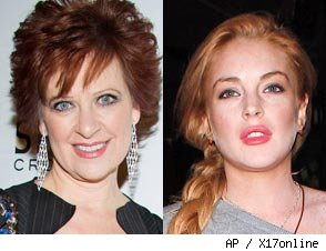 Caroline Manzo, Lindsay Lohan