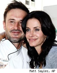 Courteney and David