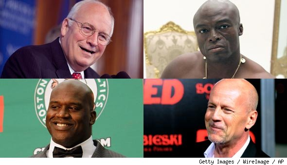 Bruce Willis, Shaq and Dick Cheney Are Neighbors on GQ's 'Bald 100' Power List
