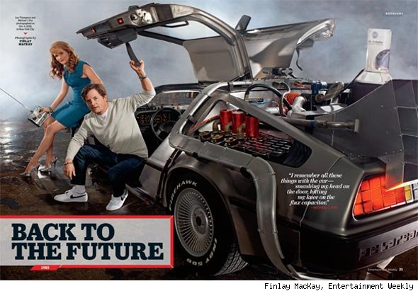 Inside Entertainment Weekly's Reunion Extravaganza: First Stop, 'Back to the Future'