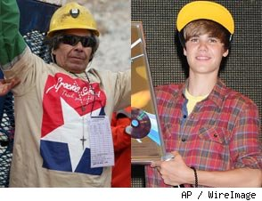 Biebs and Miner