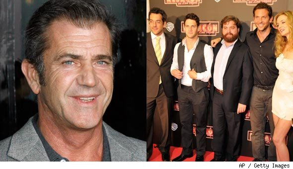 'Hangover' Cast Sinks Mel Gibson's Career for Good