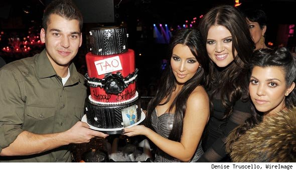 Kim Kardashian's birthday party at TAO