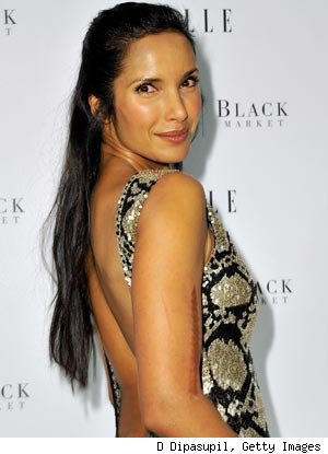 Padma Lakshmi Runs 70 Flights of Stairs Before Hitting the Gym