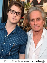 Battling Cancer, Michael Douglas Visits Son in Prison